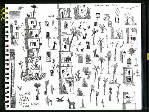 来自Tom Gauld的充满想象力的草图本子