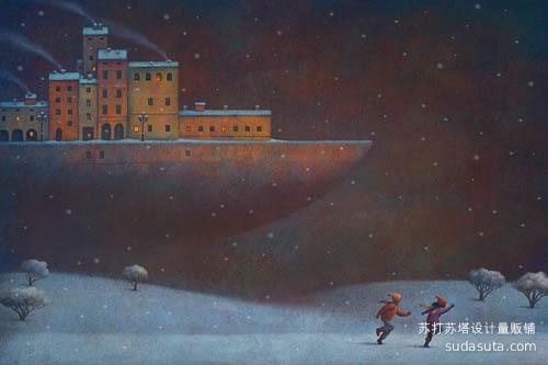 Paolo Domeniconi 儿童插画欣赏