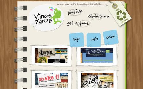 50个令人印象深刻的作品集网站设计
