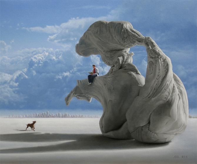 Joel Rea 超现实主义插画作品欣赏