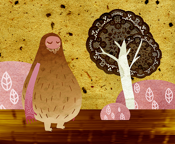 Kailey Lang 儿童插画欣赏