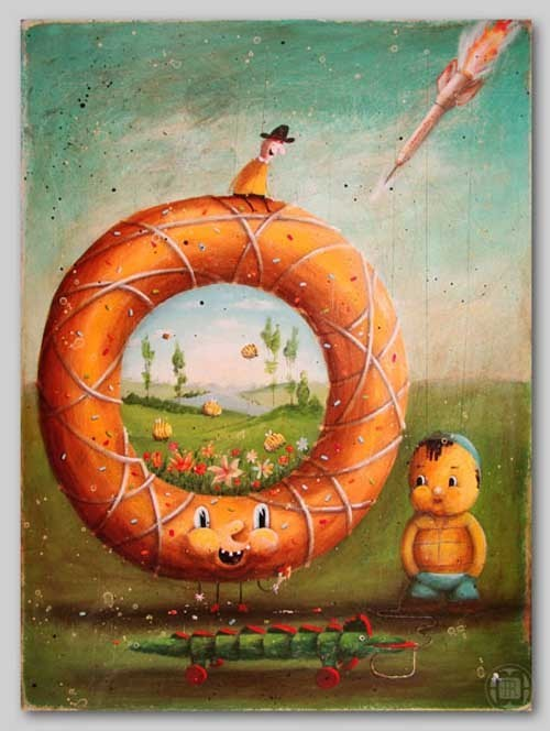 Robert Romanowicz 手绘插画作品欣赏