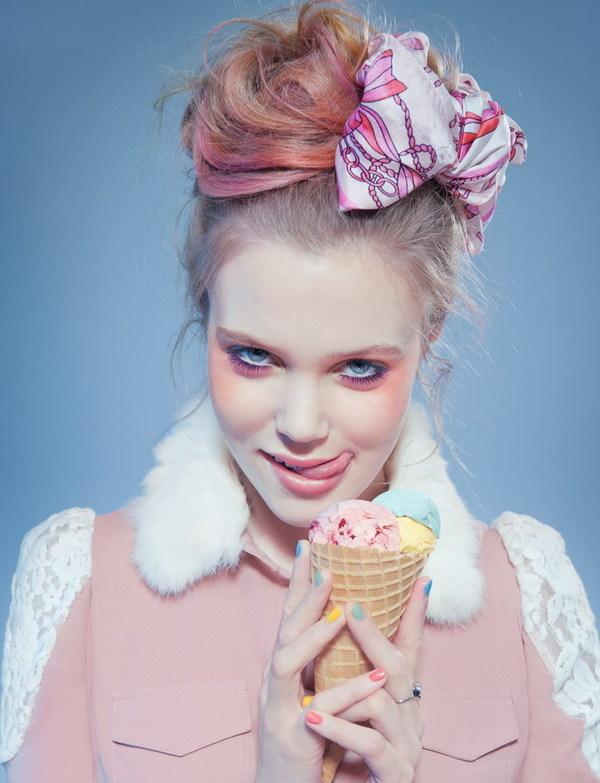 《甜蜜粉彩》时尚摄影欣赏