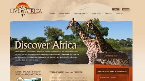 37个非常不错的旅游网站截图