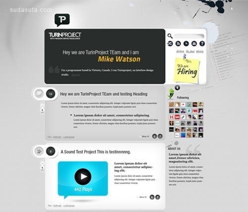 35个极其绚丽的创意网站设计截图欣赏