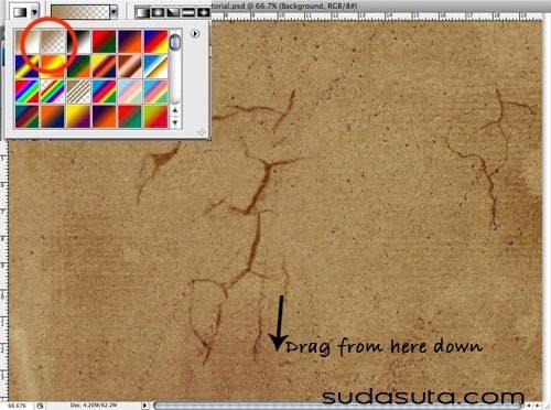 在photoshop中怎样绘制一个蹩脚的页面效果图