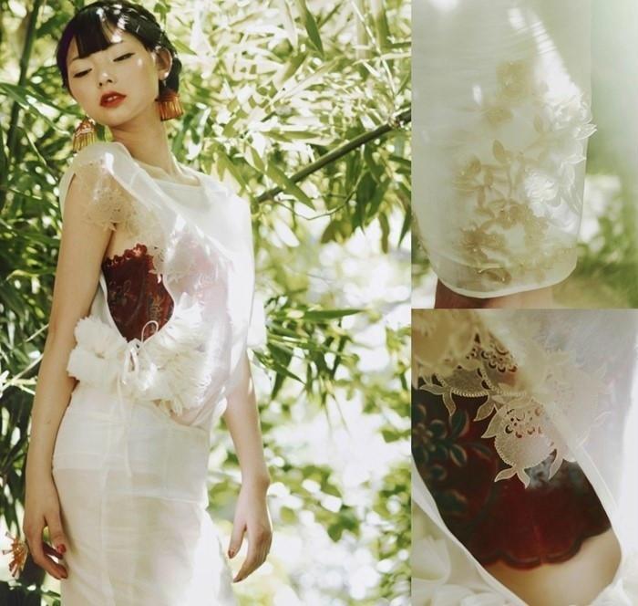 剪纸与时尚 创意服装设计欣赏