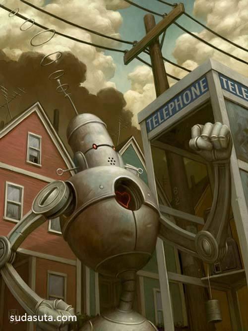 35张来自未来的机器人插图