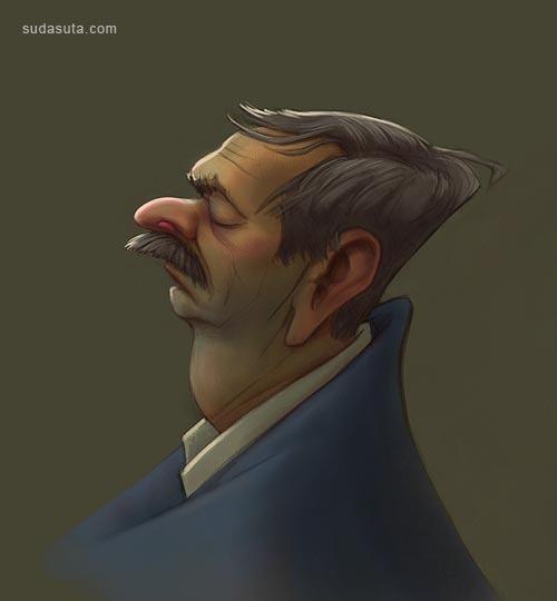 来自Sam Tasty非常有趣的卡通插画欣赏