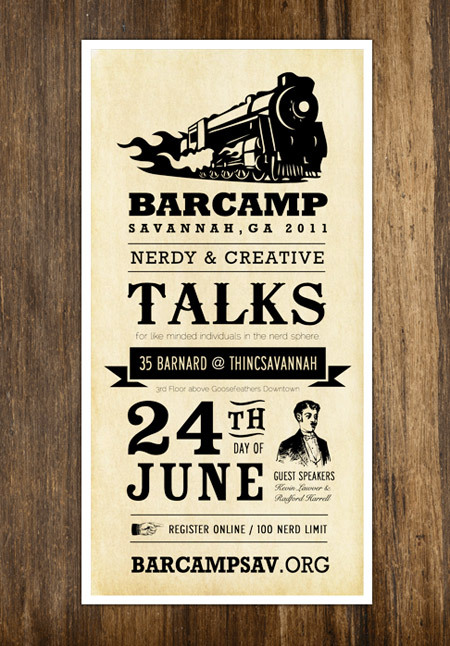 http://dribbble.com/shots/160365-Barcamp-Poster/attachments/676