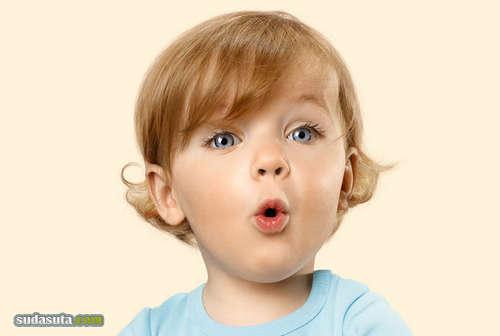 Alexandra Klever 婴儿的表情