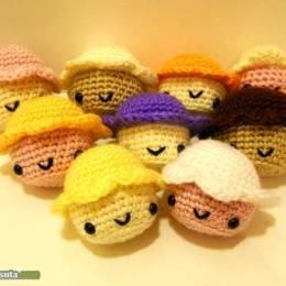 Jessica 可爱手工编织玩具