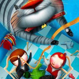 Vadim Gannenko儿童插画作品欣赏