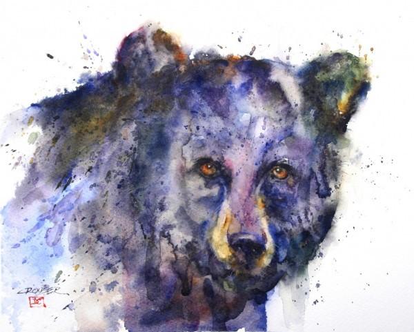 Dean Crouser 动物水彩绘画欣赏