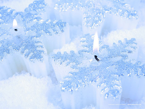漂亮的冬季圣诞节主题桌面壁纸下载