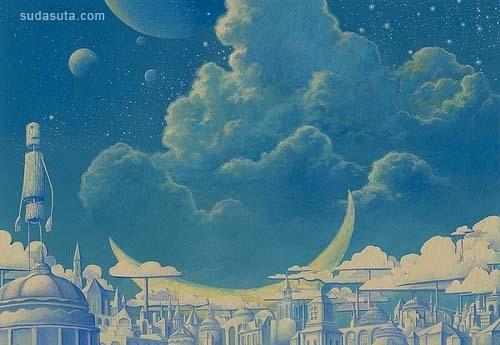 梦想马戏团-手绘插画欣赏