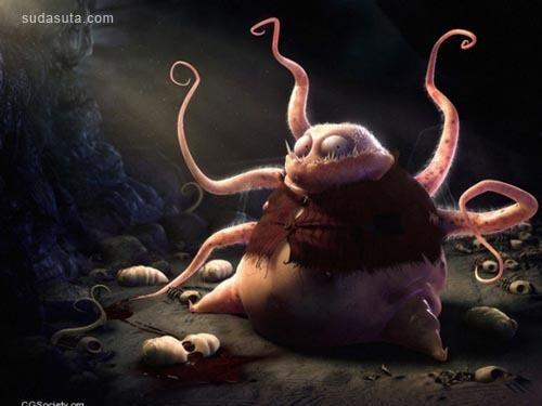 以动物为主题的CG插画欣赏