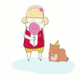 胖妞儿的生活 可爱卡通欣赏