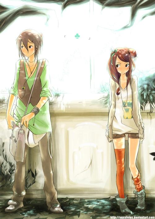 Aquafeles 恋爱心情 日式漫画欣赏