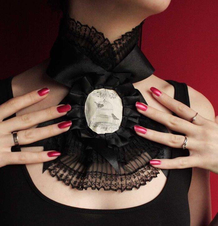 pinkabsinthe 领结的时尚