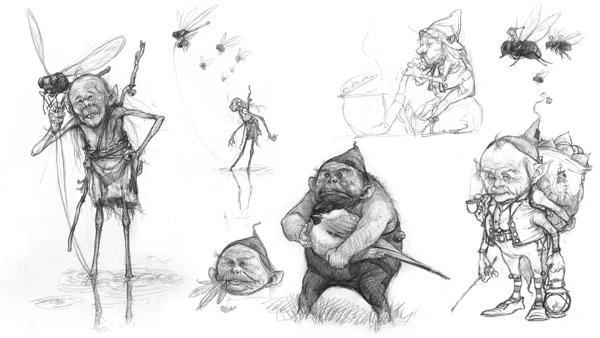 Jean-Baptiste Monge 卡通造型设计欣赏