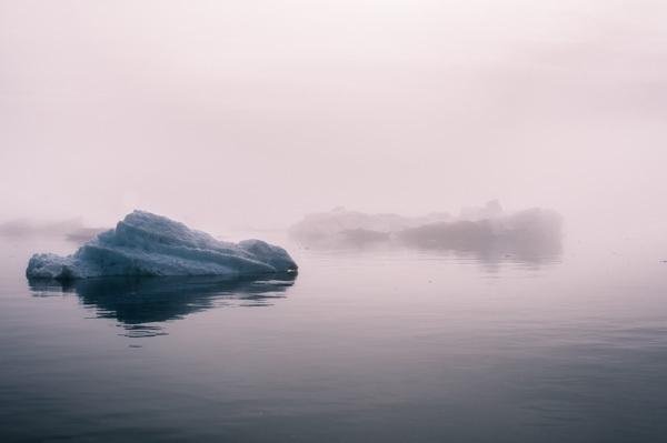 格陵兰岛的冰山FOG