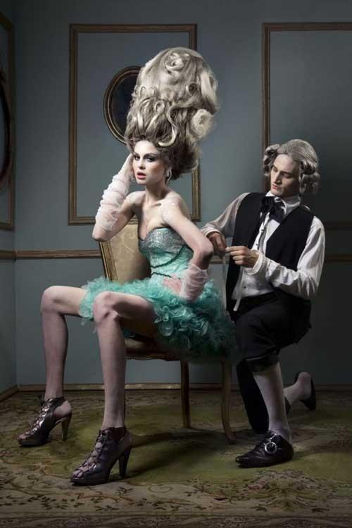 洛可可风格时尚摄影欣赏
