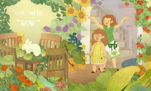 Lia Marcoux 儿童插画作品欣赏