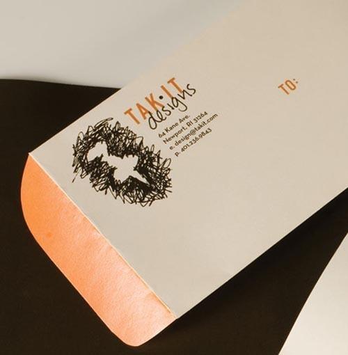 40个最新的复古风格的公司名片设计欣赏