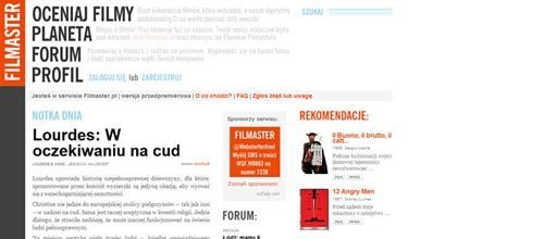 50个极好的应用了文字印刷设计的网页截图