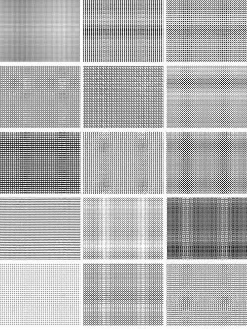7组像素化背景图案下载