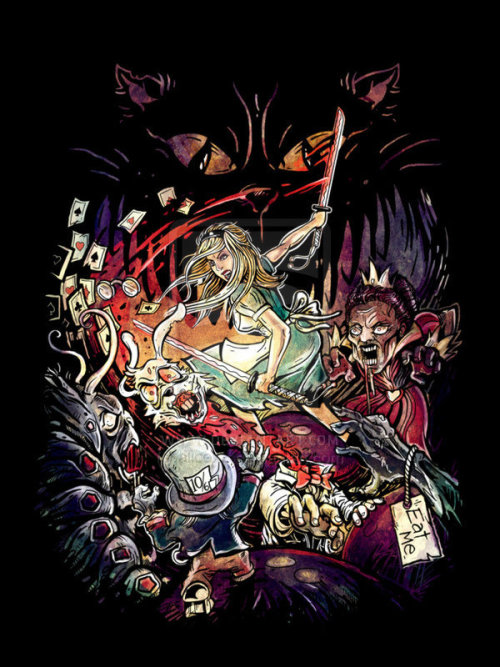 Alicexz T恤设计赏