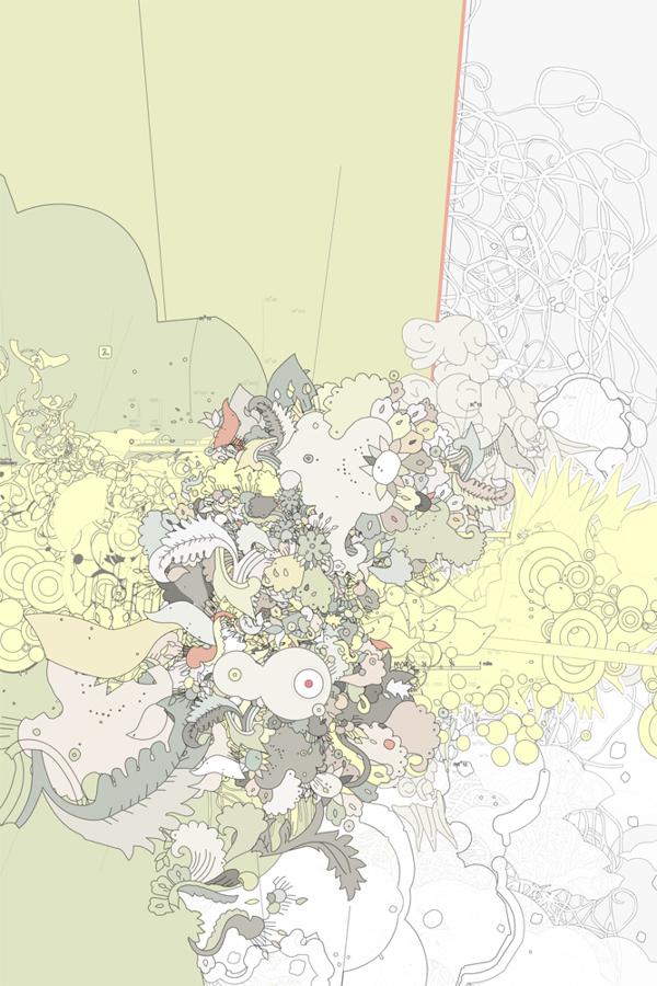 Joshua Davis 插画设计欣赏