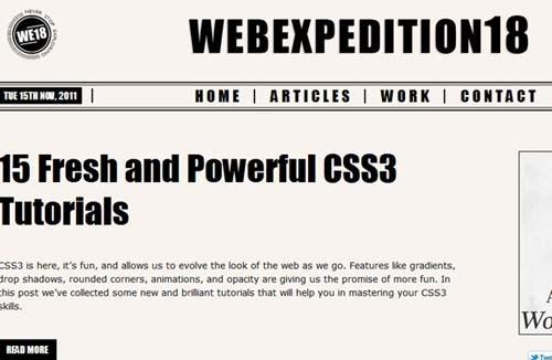 每周网页设计灵感分享 N.004
