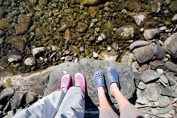 卡洛驰洞洞鞋,新西兰。