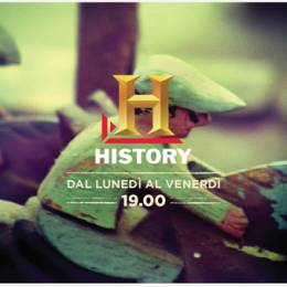 Typographic Id's – History Channel