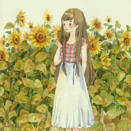 琳一linyi 少女与花
