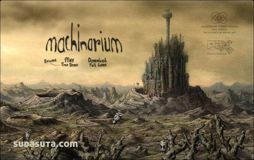 Machinarium 解迷游戏推荐
