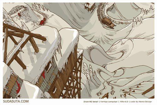 来自Adam Haynes的矢量插画欣赏
