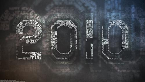 非常漂亮的2010年新年壁纸下载