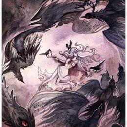Slytherin Smugcat 水彩插画欣赏