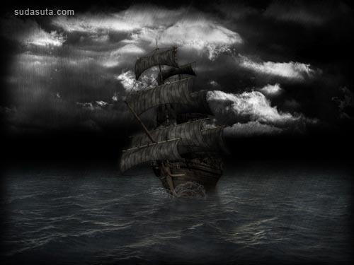 30张极好的以船为主题的CG插画作品欣赏
