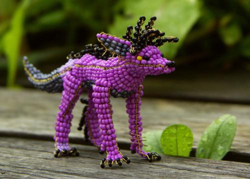 可爱手工串珠工艺玩具
