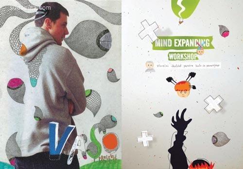23个创意拼贴作品欣赏