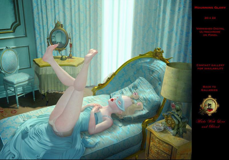 加拿大Ray Caesar超现实主义插画作品欣赏