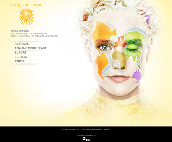 http://www.cirquedusoleil.com/en/welcome.aspx