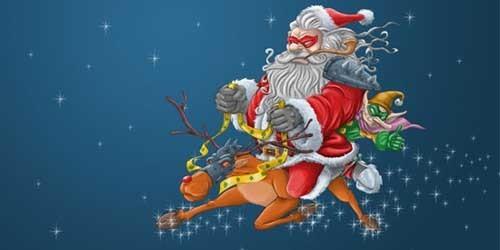 40个创意圣诞壁纸下载