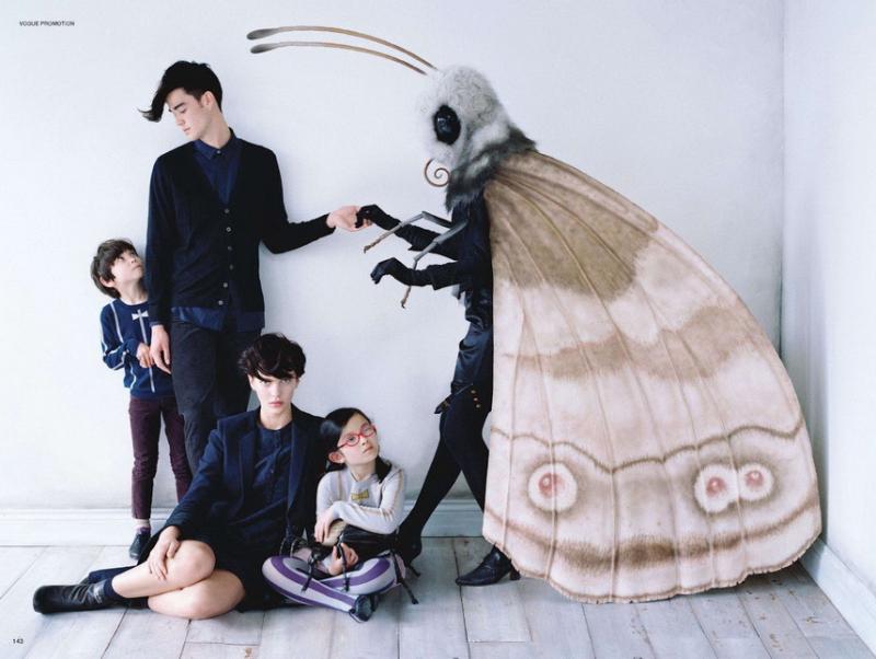 昆虫大朋友 时尚摄影欣赏