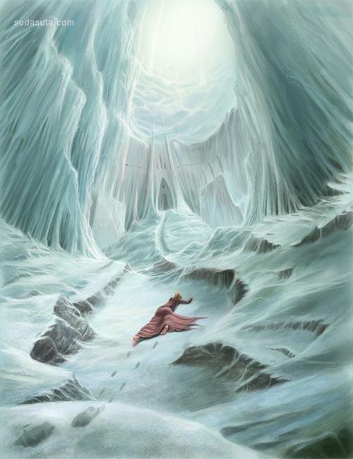 20张冰雪插画欣赏