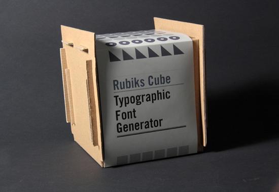Rubik 印字魔方设计欣赏